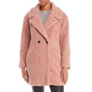 NWT Lucky Brand Blush Sherpa Coat